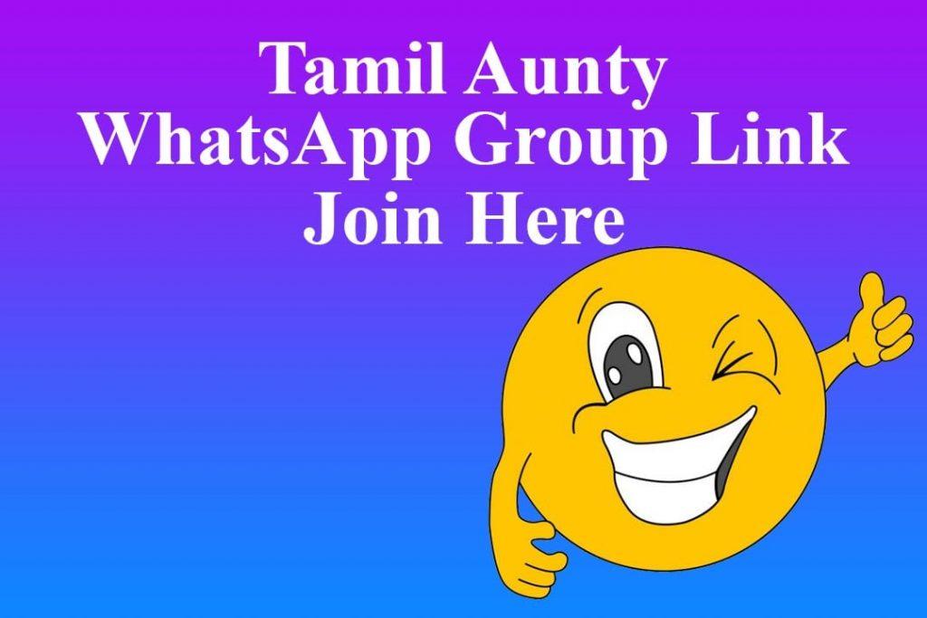 Tamil Aunty WhatsApp Group Link