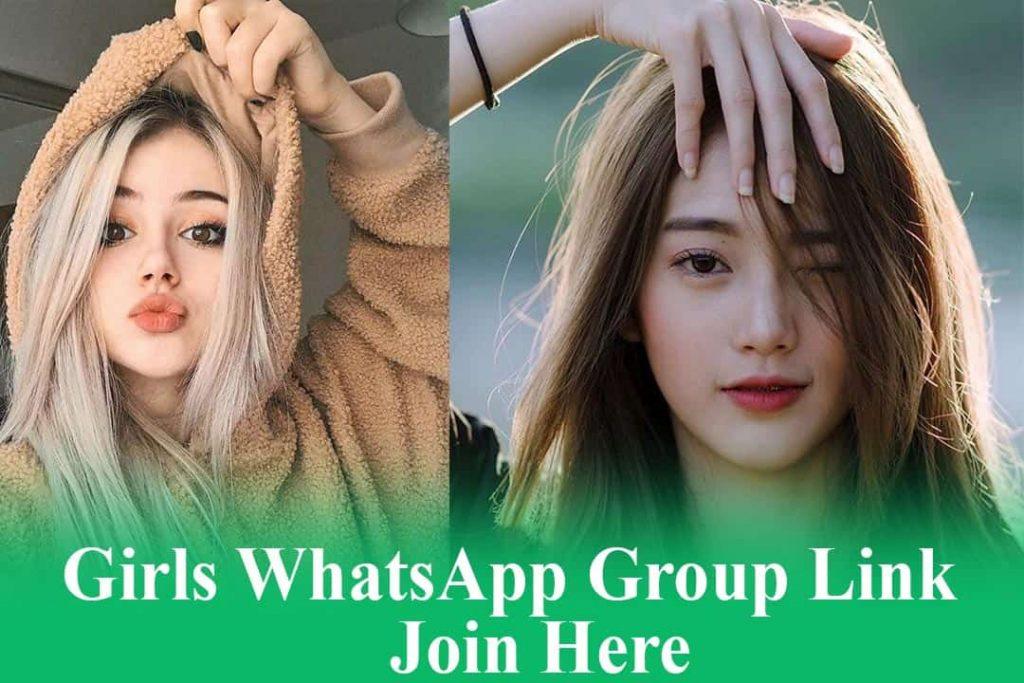 Cute Girls WhatsApp Group Links