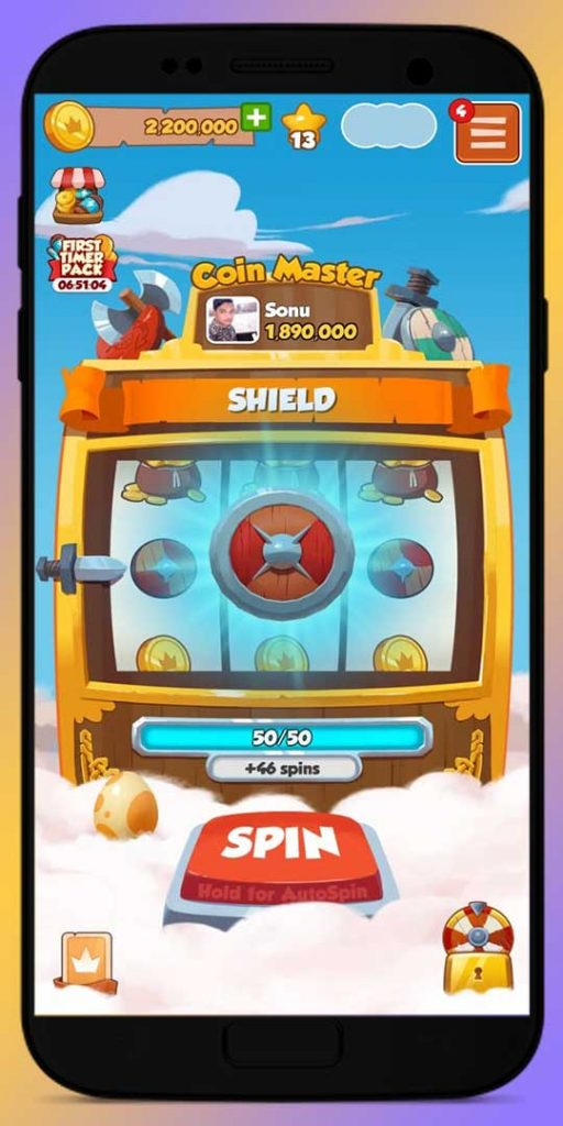 Protect Coin Master village with the Shield