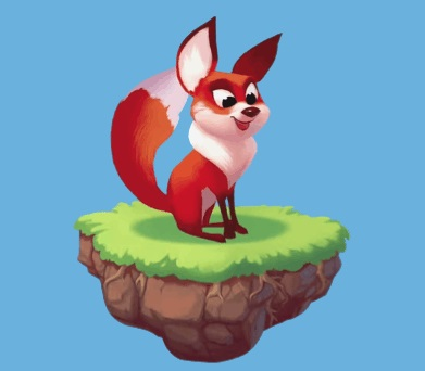 Foxy the first Coin Master Pet
