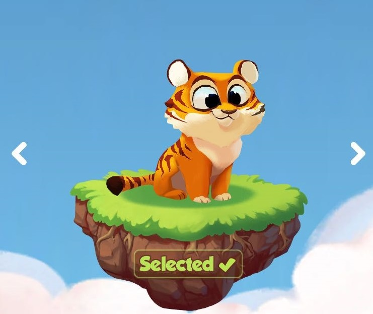 Tiger the second Coin Master pet